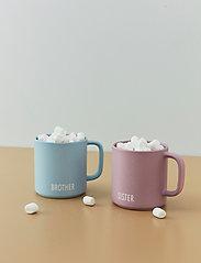 Design Letters - Siblings Cup (fine bone) - tasses à café - lavender - 0