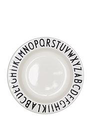 Deep melamine plate - WHITE
