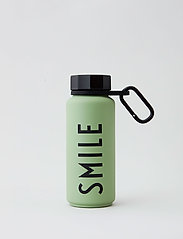 Design Letters - Carry strap for Thermo bottle - vesi- ja lasipullot - black - 2