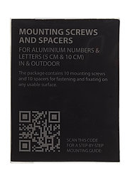 Mounting screws - BLACK