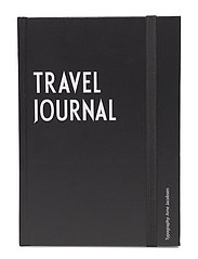 Travel journal book - BLACK