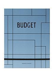 Budget book - BLUE