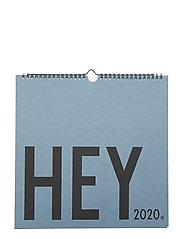 Wall Calendar, 2020 - BLUE