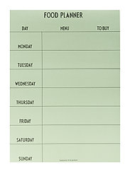 Weekly Food planner - Green - GREEN