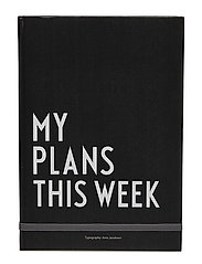 My plans this week - BLACK