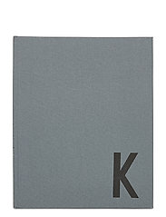 Personal textil notebook - GREY