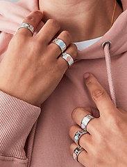 Design Letters - YOU ROCK Ring SILVER str. 56 - bagues - silver - 0