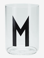 Design Letters - Personal drinking glass - accessoires - clear - 0