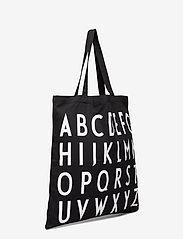 Design Letters - Tote bag black - sacs en toile - black - 2