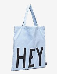 Design Letters - Favourite tote bag - cabas - light blue - 2
