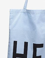 Design Letters - Favourite tote bag - cabas - light blue - 3