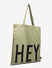 Design Letters - Favourite tote bag - cabas - light green - 2