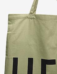 Design Letters - Favourite tote bag - cabas - light green - 3