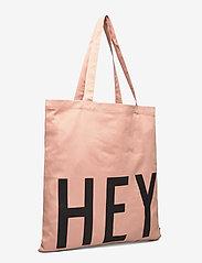 Design Letters - Favourite tote bag - cabas - pink - 2