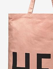 Design Letters - Favourite tote bag - cabas - pink - 3