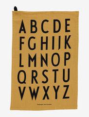Design Letters - Classic Tea Towel 2-pack - torchons - honey - 0