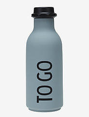 Design Letters - To Go Water Bottle - treenivarusteet - grey - 0