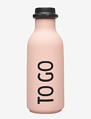 Design Letters - To Go Water Bottle - treenivarusteet - pink - 0