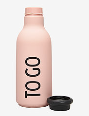 Design Letters - To Go Water Bottle - treenivarusteet - pink - 2