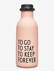 Design Letters - To Go Water Bottle Special Edition - vesi- ja lasipullot - pink - 0