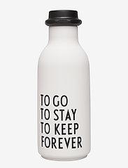 Design Letters - To Go Water Bottle Special Edition - bouteilles à eau et bouteilles en verre - white - 0