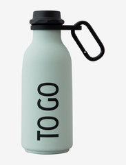 Design Letters - Carry strap for Water bottle - vesi- ja lasipullot - black - 1