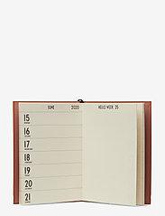 Design Letters - Calendar, 2020 - wystrój domu - camel - 1