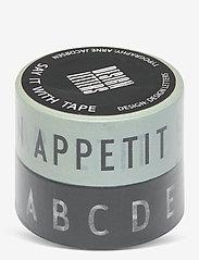 Design Letters - Say it with tape - décor - black - 0