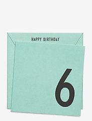 Birthday card - GREEN