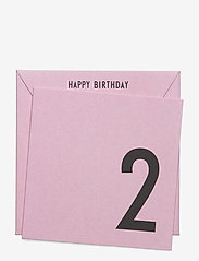 Birthday card - PINK
