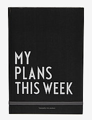 Design Letters - My plans this week - wystrój domu - black - 0