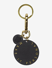 Design Letters - Personal key ring & bagtag - key rings - brass - 1