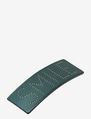 Design Letters - Classic Hair Clip Large - hiusasusteet - dark green 5545c - 0