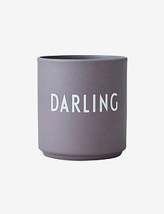 Favourite cup - tasses et mugs - dusty purple
