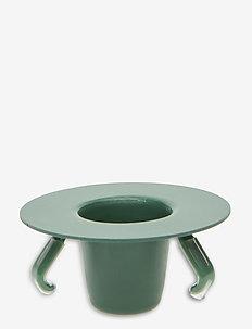 Candle holder insert - wystrój domu - darkgreen