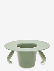Candle holder insert - home decor - green