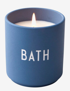 Scented candle large - fragrance diffusers - bluebath