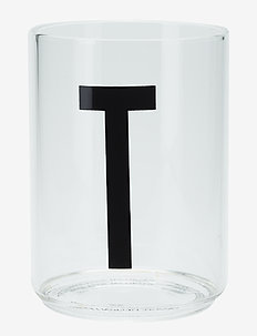 Personal drinking glass - vannglass - clear