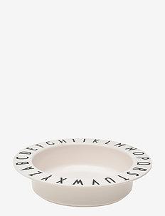 Eat & Learn deep plate tritan - meal time - white