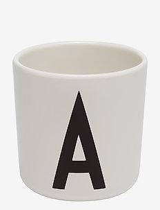 Melamine cup - kök - white