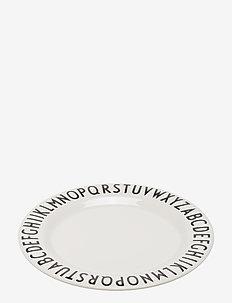 Melamine plate - tallerkener & skåler - white