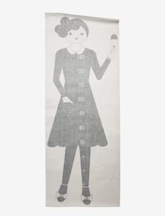 Measurewoman Wallsticker - naklejki na ścianę - black