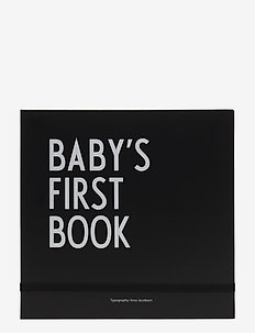 Baby's first book - baby products - black