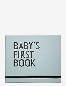 Baby's first book - babyprodukter - blue