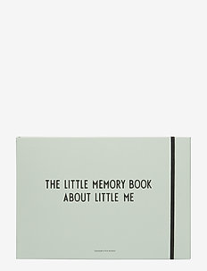 THE LITTLE MEMORY BOOK ABOUT LITTLE ME - wystrój domu - blue