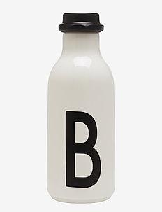 Water bottle A-Z - vesi- ja lasipullot - white