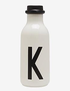 Water bottle A-Z - waterflessen en glazen flessen - white