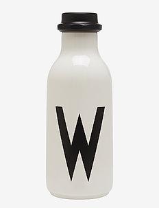 Water bottle A-Z - water bottles & glass bottles - white