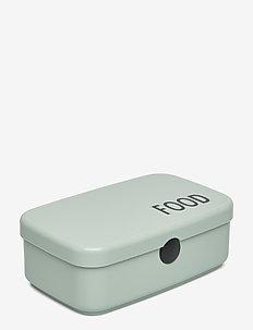 FOOD & LUNCH BOX - wystrój domu - green