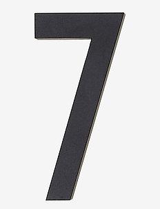 Architect numbers 50 mm - wystrój domu - black